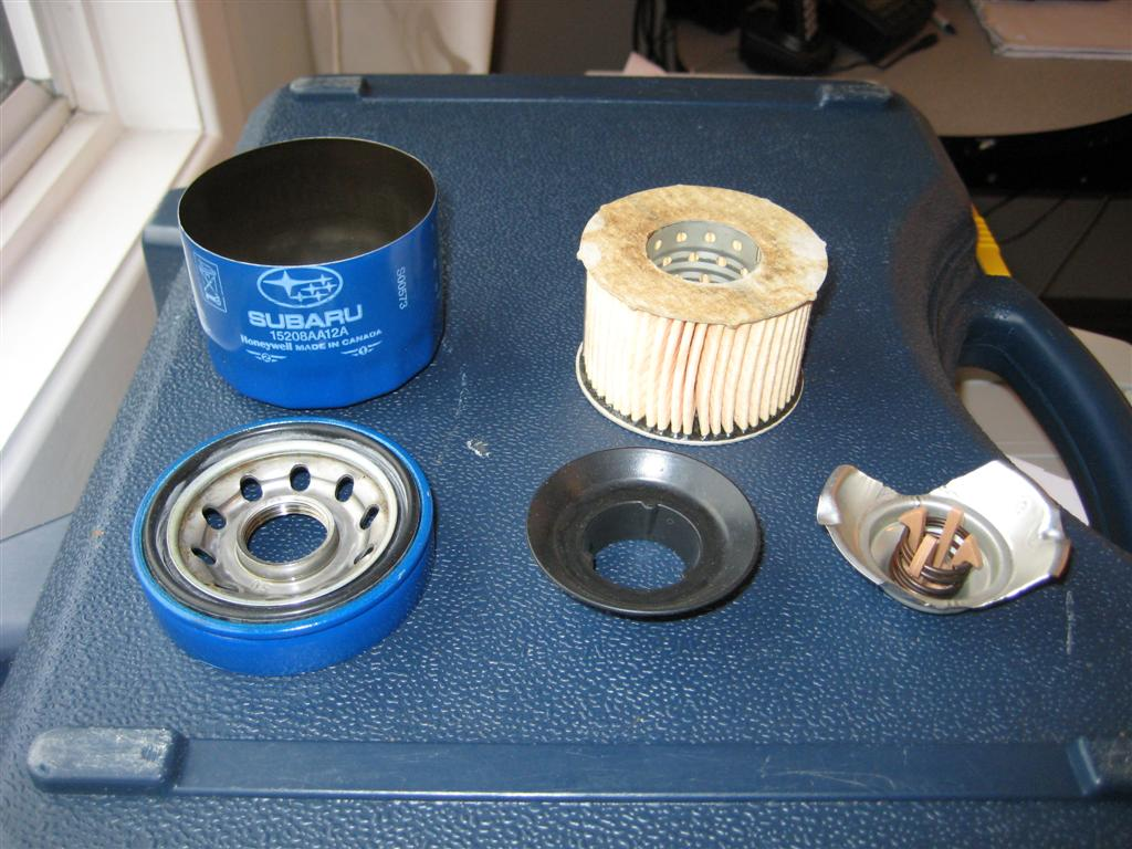 New Subaru Blue Oil Filters Made By Honeywell Legacy Forums Wrx Fuel Filter
